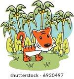 tiger | Shutterstock . vector #6920497