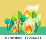 Poster Of Raging Wildfire....