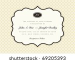 vector ornate frame. easy to... | Shutterstock .eps vector #69205393