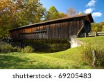 Wood Covered Bridge In...