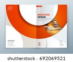 brochure template layout design.... | Shutterstock .eps vector #692069521