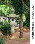 japanese lantern in kepaniwai... | Shutterstock . vector #69207622