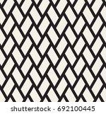 geometric seamless pattern.... | Shutterstock .eps vector #692100445