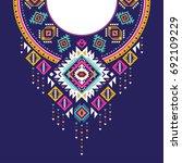 textile design for collar