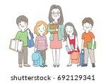 draw vector illustration... | Shutterstock .eps vector #692129341
