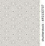 vector seamless pattern. modern ...   Shutterstock .eps vector #692132737