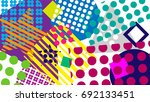 abstract vintage background | Shutterstock .eps vector #692133451