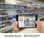 iot  internet of things smart...   Shutterstock . vector #692141329