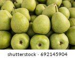 beautiful pear yummy juicy fruit   Shutterstock . vector #692145904