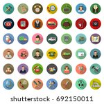 service icons | Shutterstock .eps vector #692150011