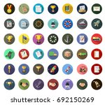 shipping icons | Shutterstock .eps vector #692150269
