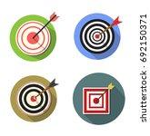 target icons | Shutterstock .eps vector #692150371