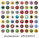electronics icons | Shutterstock .eps vector #692150917