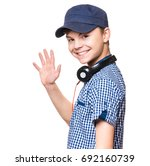 portrait of young student with...   Shutterstock . vector #692160739