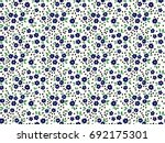 floral background with small... | Shutterstock .eps vector #692175301