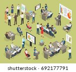 business coaching  collection... | Shutterstock . vector #692177791