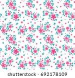 Floral Pattern. Pretty Flowers...