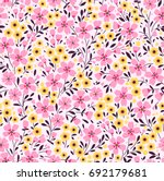 Floral Pattern. Pretty Flowers...