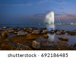 fountain a landmark of the...   Shutterstock . vector #692186485