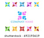 social people icon | Shutterstock .eps vector #692193619