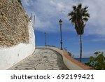 promenade in nerja  costa del... | Shutterstock . vector #692199421