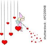 Love Fairy Vector
