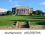 Bowling Green, Kentucky, United States. The Van Meter Hall inside the Western Kentucky University.