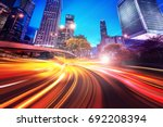 abstract speed technology... | Shutterstock . vector #692208394