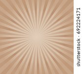 abstract light brown rays... | Shutterstock .eps vector #692224171