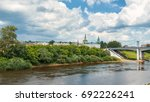 The Bank Of A Dnieper River In...