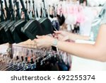 blurry background of teen girl...   Shutterstock . vector #692255374