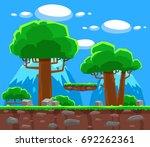 wood background | Shutterstock .eps vector #692262361