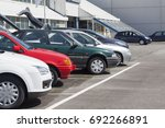 buy and sell used vehicles. | Shutterstock . vector #692266891