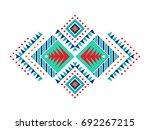 aztec style ornament american