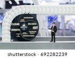 business concept of industry 4... | Shutterstock . vector #692282239
