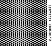 abstract monochrome hexagon... | Shutterstock .eps vector #692313859
