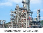 close up industrial zone. plant ... | Shutterstock . vector #692317801