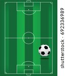 football field or soccer field...   Shutterstock .eps vector #692336989