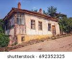 derelict house | Shutterstock . vector #692352325