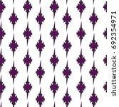 vector easy geometric floral... | Shutterstock .eps vector #692354971
