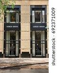chicago  usa   june 26  2013 ... | Shutterstock . vector #692371009