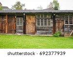 Wooden Barn Near The Historic...