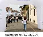 milan   april 29  looking at... | Shutterstock . vector #69237964