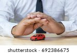 car insurance | Shutterstock . vector #692386675