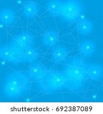 abstract technology background... | Shutterstock .eps vector #692387089