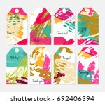 hand drawn creative tags....   Shutterstock .eps vector #692406394