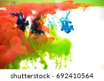 inks in water  color abstraction | Shutterstock . vector #692410564