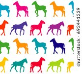 colorful seamless background... | Shutterstock .eps vector #692441239