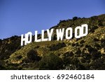 los angeles  ca   october 21 ... | Shutterstock . vector #692460184