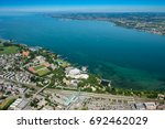 Aerial View Of Lake Constance...